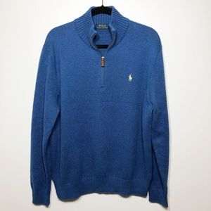 Polo Ralph Lauren Pullover Sweater in Blue Size XL